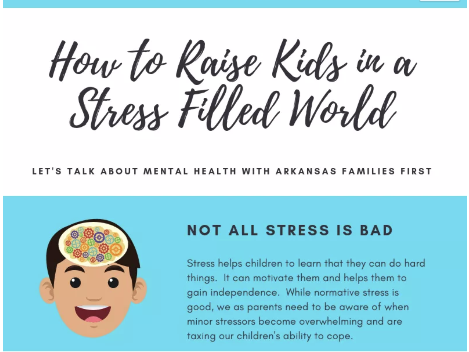 Raising Kids In A Stress Filled World