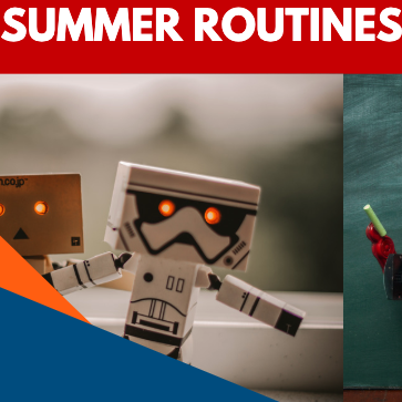 Summer Routines With Robots